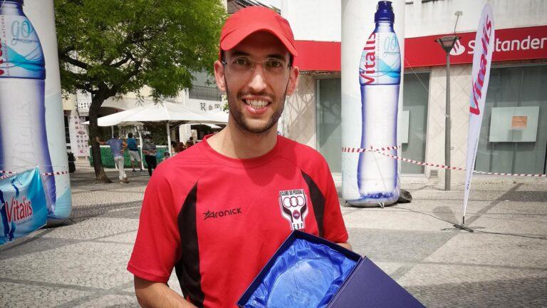 Pedro Amaro é segundo na edição de 2021 da Ultra Maratona Caminhos do Tejo 2021 no percurso de 57km