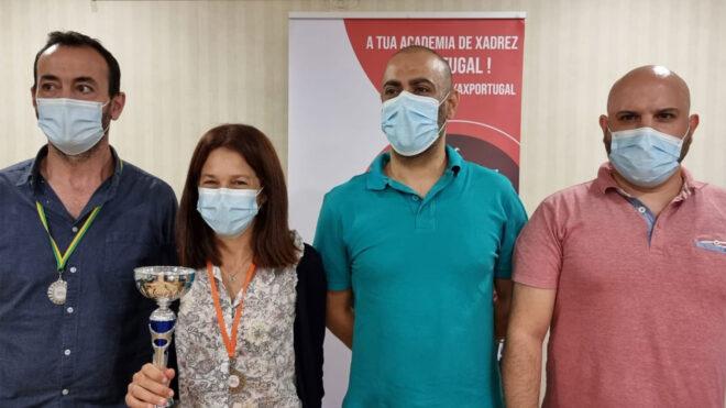 Torneio de Xadrez organizado pela AX Portugal: 1º lugar por equipas e Geral Feminina - 12 set.